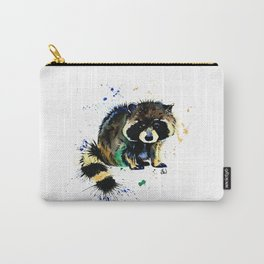 Raccoon - Splat Carry-All Pouch