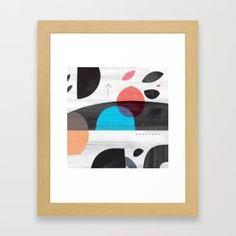 Lights Gone Framed Art Print