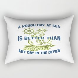 ROUGH DAY AT SEA Rectangular Pillow