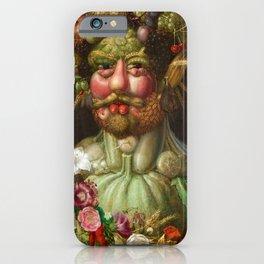 Giuseppe Arcimboldo - Vertumnus iPhone Case