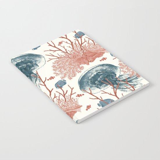 Aquatic Pattern Notebook