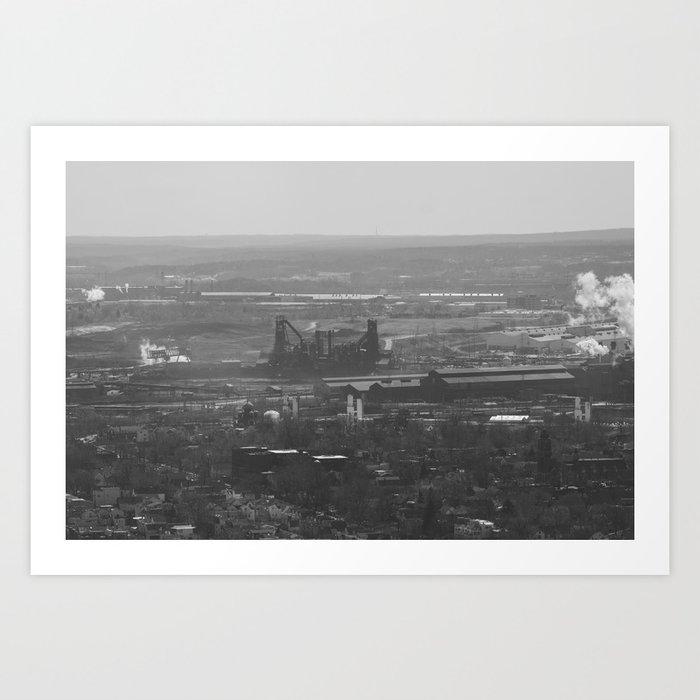 Steel Mills Art Print