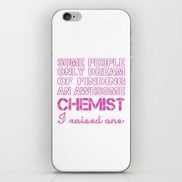 CHEMIST'S MOM iPhone Skin