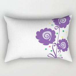 Ultra violet flower Rectangular Pillow