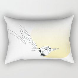 fly to the sun Rectangular Pillow