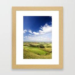 Dorset countryside Framed Art Print