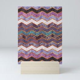 Glitter Waves Mini Art Print