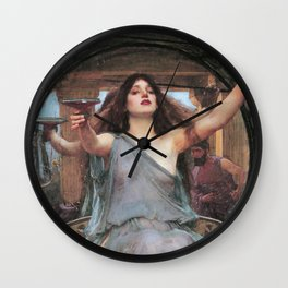 Circe Offering the Cup to Odysseus - Wall Clock