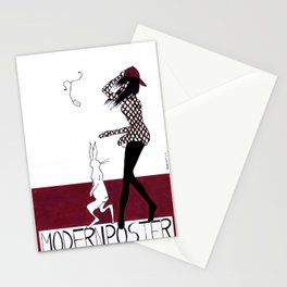 MODERN POSTER Stationery Cards