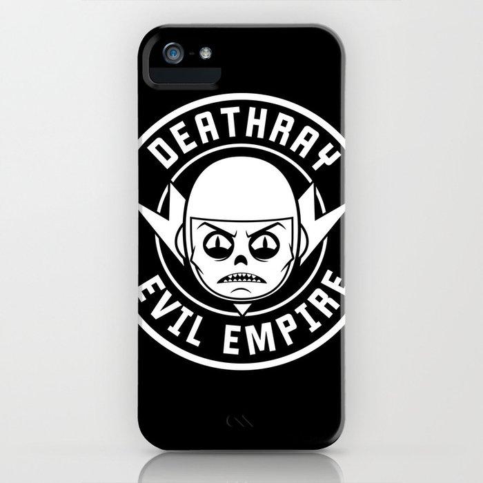 DeathRay Evil Empire Logo iPhone Case