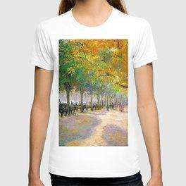 Hyde Park London 1890 By Camille Pissarro | Reproduction | Impressionism Painter T-shirt