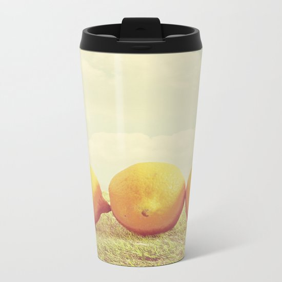 Lemongrass Metal Travel Mug