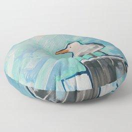 Skipper Seagull Floor Pillow