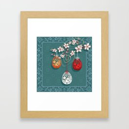 Easter . Framed Art Print