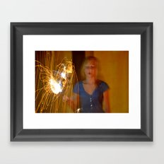 Dazed Framed Art Print