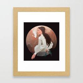 Hesitate Framed Art Print