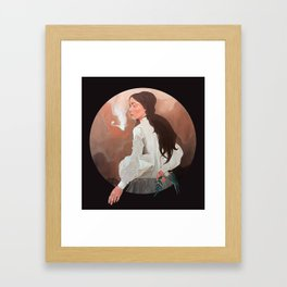Hesitate Framed Art Print