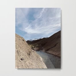 Snowy Superstitions Metal Print