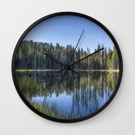 Siesta Lake Wall Clock
