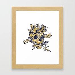 Poison Heart Framed Art Print