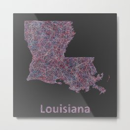 Louisiana Metal Print
