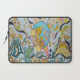 Supersonic Volcanic Moonship Laptop Sleeve