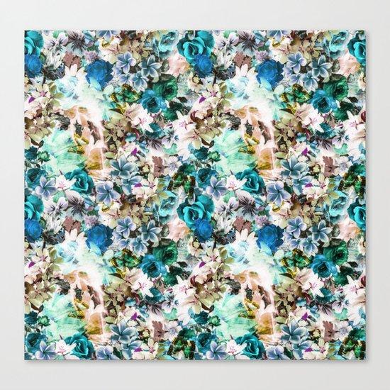 Floral Pattern V2 Canvas Print