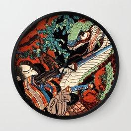 Ukiyo-e, Dragon Wall Clock