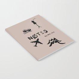 Aquarius Notes Notebook