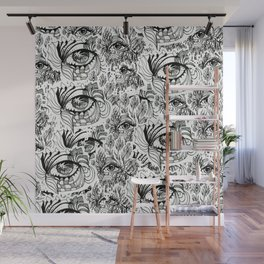 KEIM EYEZ ILLUSTRATION PRINT Wall Mural