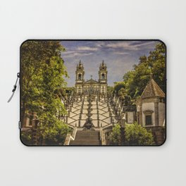 Portugal, Minho district, Braga, the sanctuary of Bom Jesus and the baroque stairway Laptop Sleeve