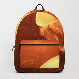 Orange Jellyfish Backpack