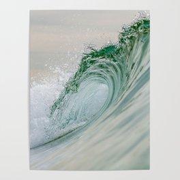 Glassy Wave Poster