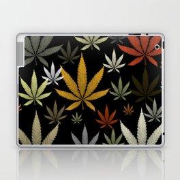 Marijuana Cannabis Weed Pot Leaves Laptop & iPad Skin