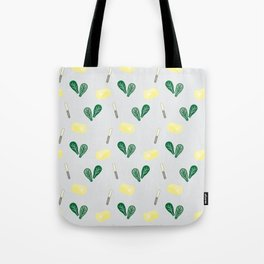 Butter & Spinach Tote Bag