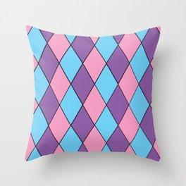 Diamonds - Pastel Throw Pillow
