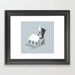 Monster! Framed Art Print