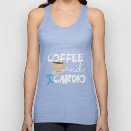 Coffee & Cardio Unisex Tank Top
