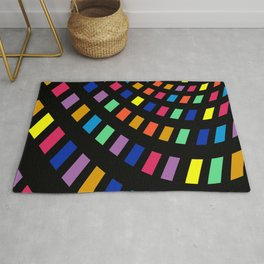 illustrations color table Rug