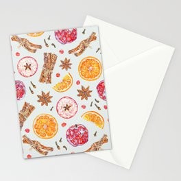 Spiced Apple Cider - Mint Stationery Cards