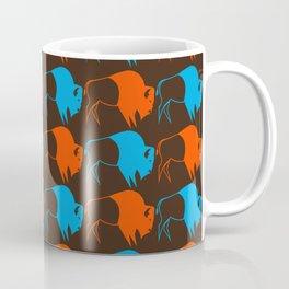 Orange Blue Buffalo Spirit Coffee Mug
