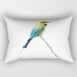 Rainbow Bee Eater by Teresa Thompson Rectangular Pillow