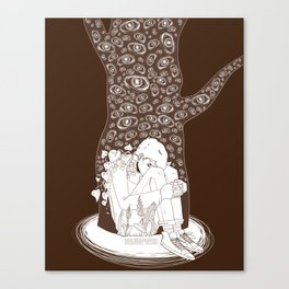 Scry Canvas Print