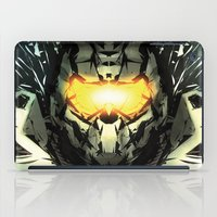 master chief iPad Cases featuring The Master Chief by Andrew Sebastian Kwan