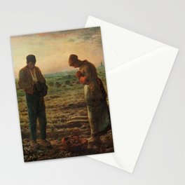 The Angelus Jean Francois Millet Stationery Cards