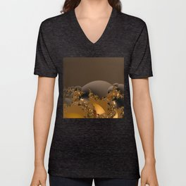 Golden Taste of Chocolates Unisex V-Neck