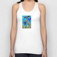 theatre Tank Tops featuring The Dragon Theatre by Kookyphotography