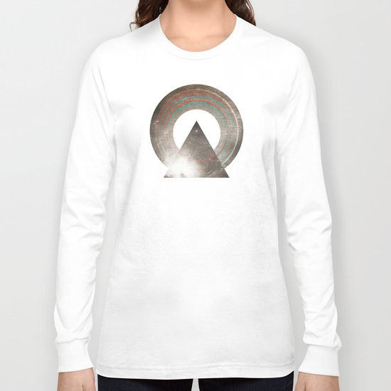 Stereo Induction Long Sleeve T-shirt