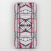 teeth iPhone & iPod Skins featuring teeth by patternkat