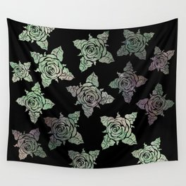 Roses of the Undead Wall Tapestry